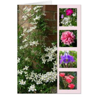 The Garden in June Card