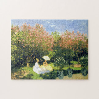 The Garden Monet Fine Art Jigsaw Puzzle