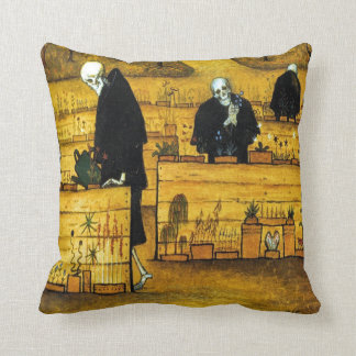The Garden of Death by Hugo Simberg 1896 Cushion