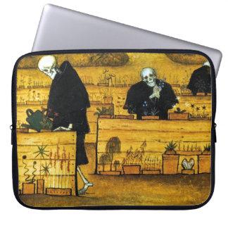 The Garden of Death by Hugo Simberg 1896 Laptop Sleeve