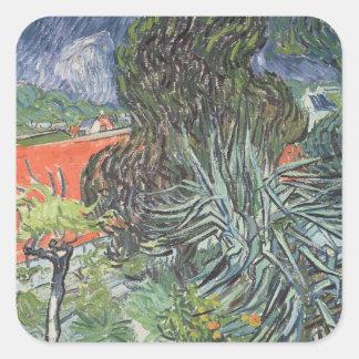 The Garden of Doctor Gachet Square Sticker