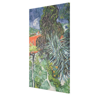 The Garden of Doctor Gachet Stretched Canvas Print