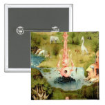 The Garden of Earthly Delights 15 Cm Square Badge