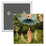 The Garden of Earthly Delights 2 15 Cm Square Badge