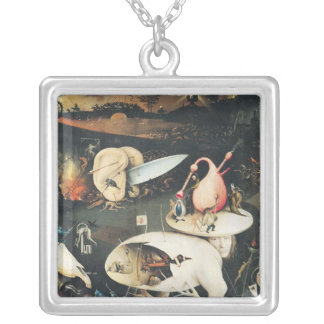 The Garden of Earthly Delights 2 Silver Plated Necklace