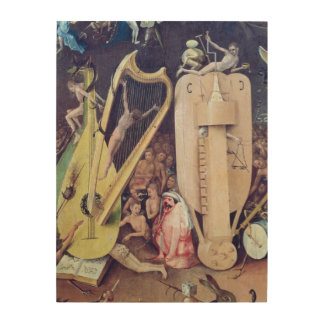 The Garden of Earthly Delights 2 Wood Wall Decor