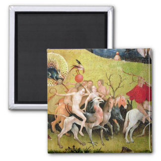 The Garden of Earthly Delights: Allegory of Square Magnet