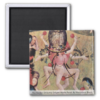 The Garden Of Earthly Delights: By Hieronymus Fridge Magnets