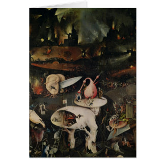 The Garden of Earthly Delights, Hell Greeting Card