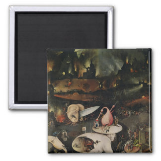 The Garden of Earthly Delights, Hell Square Magnet