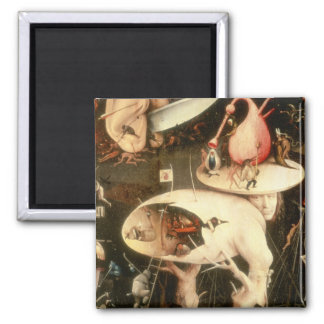 The Garden of Earthly Delights: Hell Square Magnet