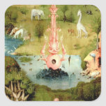 The Garden of Earthly Delights Square Sticker