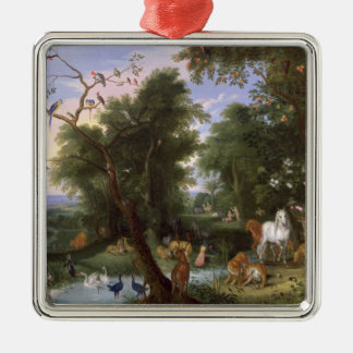 The Garden of Eden, 1659 Christmas Ornament