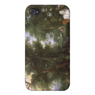 The Garden of Eden, 1659 iPhone 4/4S Cover