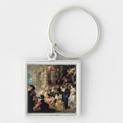 The Garden of Love, c.1630-32 Key Chain