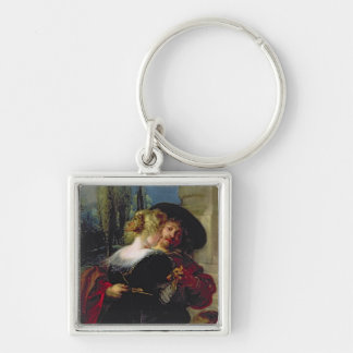 The Garden of Love, c.1630-32 Key Chain