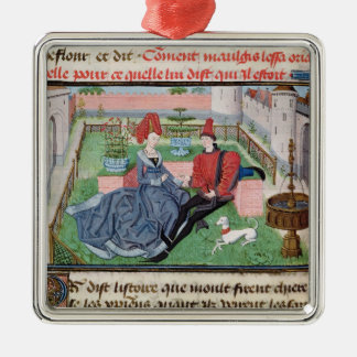 The Garden of Love Christmas Ornament