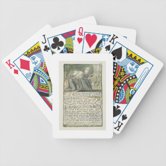 'The Garden of Love', plate 45 (Bentley 44) from ' Bicycle Playing Cards
