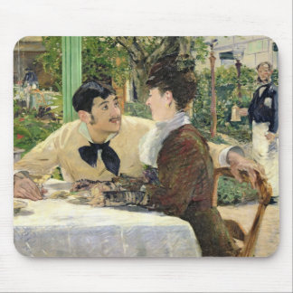 The Garden of Pere Lathuille, 1879 Mouse Pad