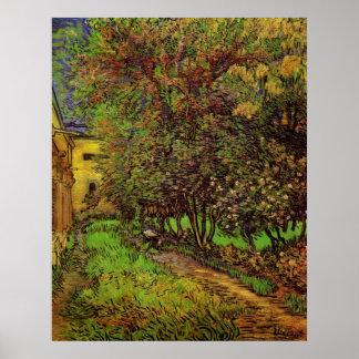 The Garden of Saint-Paul Hospital by van Gogh Poster