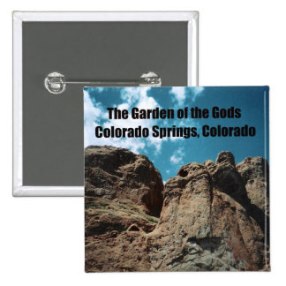 The Garden of the Gods 15 Cm Square Badge
