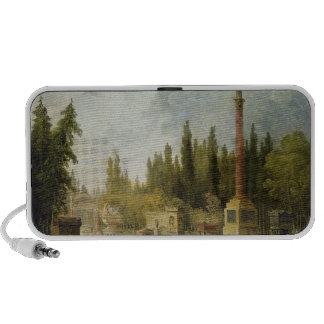The Garden of the Musee des Monuments Francais Portable Speaker