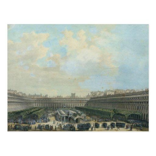 The Garden of the Palais Royal, 1791 Post Cards