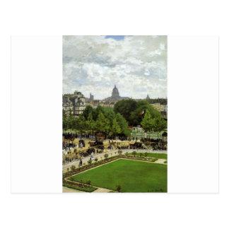The Garden of the Princess by Claude Monet Postcard