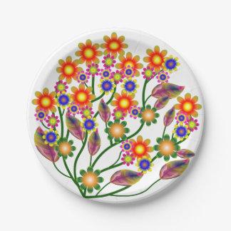 The Garden Paper Plate