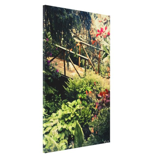 The Garden Path Gallery Wrapped Canvas