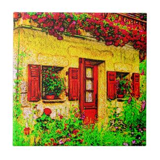 The Garden Small Square Tile