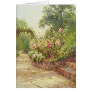 The Garden Steps Card