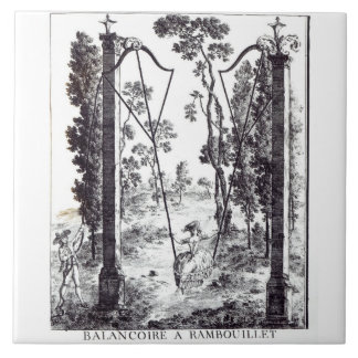 The Garden Swing at Rambouillet, from 'Details des Tile