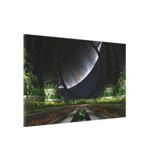 The Gardener Gallery Wrap Canvas