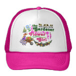 The Gardener Flower Girl Trucker Hat! Cap