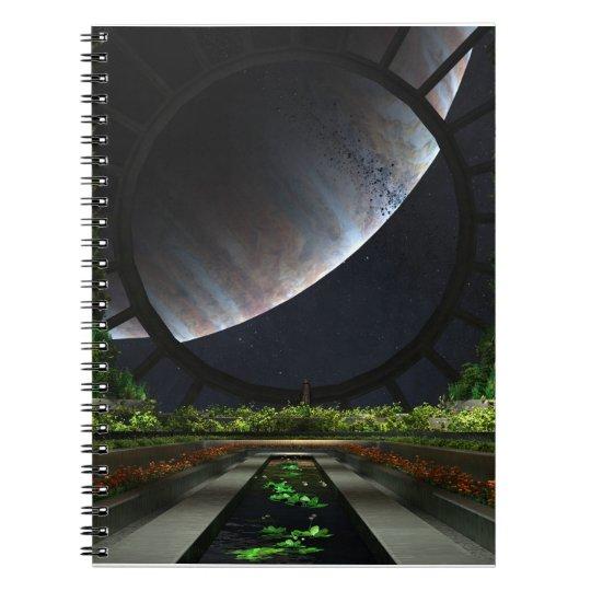 The Gardener Spiral Notebook