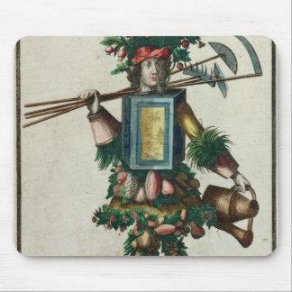 The Gardener's Costume Mouse Mat