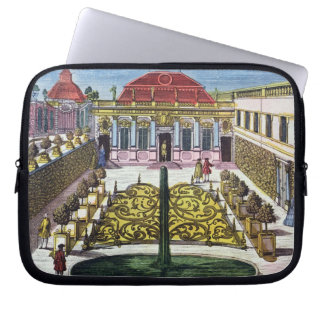 The Gardens of the Mirabelle Park, Salzburg, Austr Laptop Sleeve