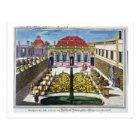 The Gardens of the Mirabelle Park, Salzburg, Austr Postcard