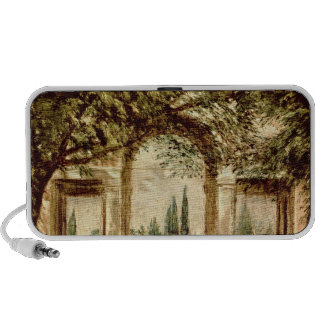 The Gardens of the Villa Medici in Rome iPhone Speaker