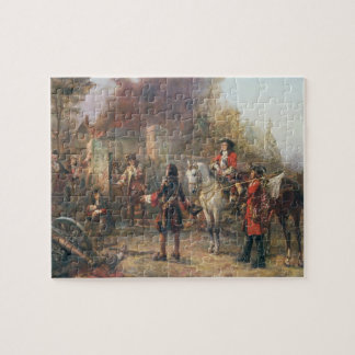 The Garrison of the Village Had At Last Surrendere Jigsaw Puzzle