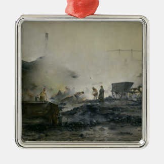 The Gas Factory at Courcelles, 1884 Christmas Ornament