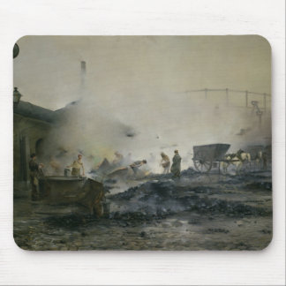 The Gas Factory at Courcelles, 1884 Mouse Mat