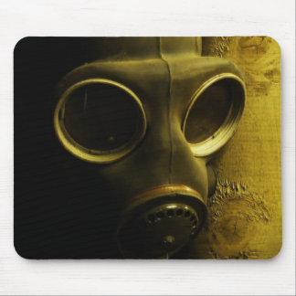 The gas mask mouse pad
