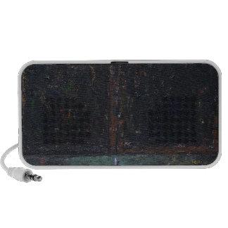 The Gate of Hell dark surrealism Portable Speakers
