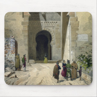The Gate of Justice, entrance to the Alhambra, Gra Mouse Mat