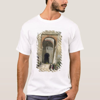 The Gate of Justice, entrance to the Alhambra, Gra T-Shirt