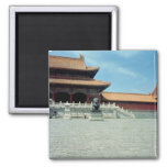The Gate of Supreme Harmony  Ming Dynasty, 1420 Refrigerator Magnets