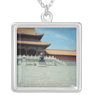 The Gate of Supreme Harmony  Ming Dynasty, 1420 Silver Plated Necklace
