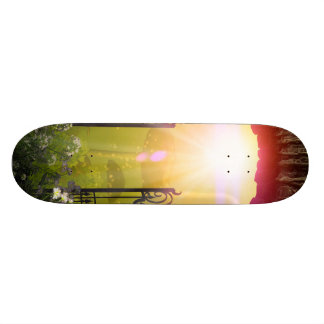 The gate to the land of dreams skate decks